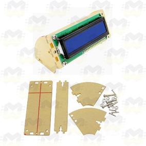 Suporte Para Display Lcd 16x2 1602 Fundo Azul Verde Arduino