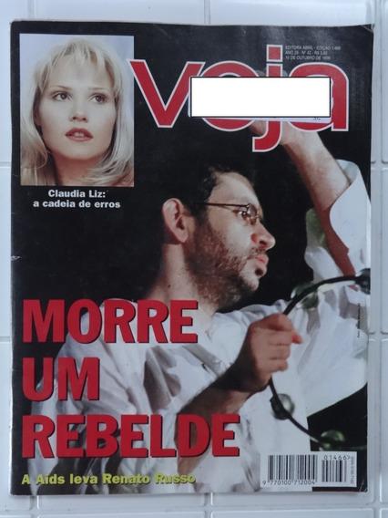 Veja Nº 1466 - A Morte De Renato Russo - Claudia Liz - 1996