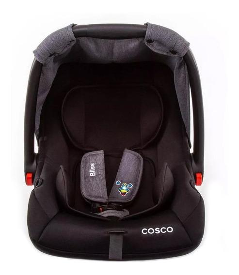 Bebê conforto Cosco Bliss Cinza-patch
