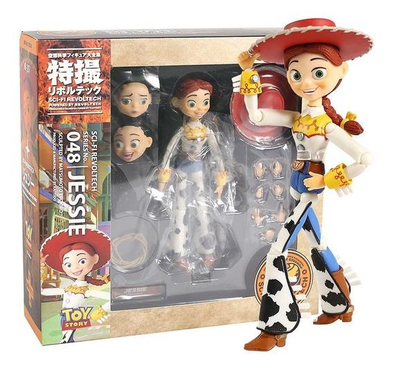 Toy Story Jessie Revoltech Namorada Buzz Boneca Figure 14cm