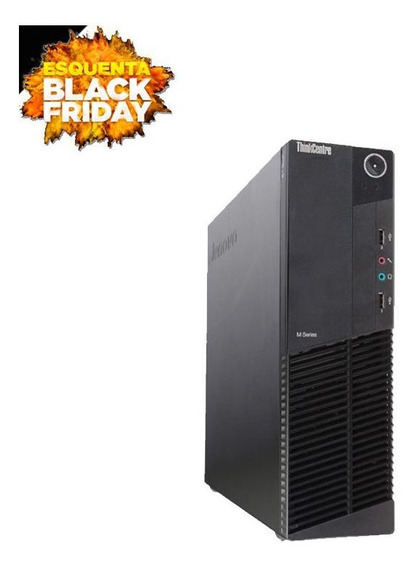 Pc Lenovo M92p Sff I5 3º 4gb Hd 500gb - Vitrine Black Friday