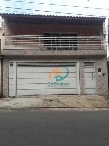 Sobrado Com 2 Dormitórios À Venda, 230 M² Por R$ 690.000,00 - Vila Alzira - São Paulo/sp - So0695