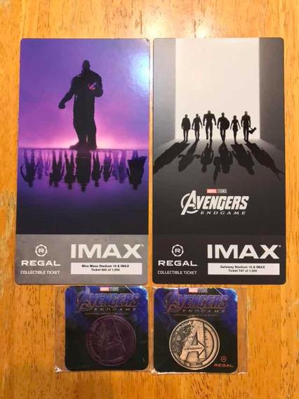 Avengers Endgame Imax Fan Event Regal Cinemas Boletos Moneda