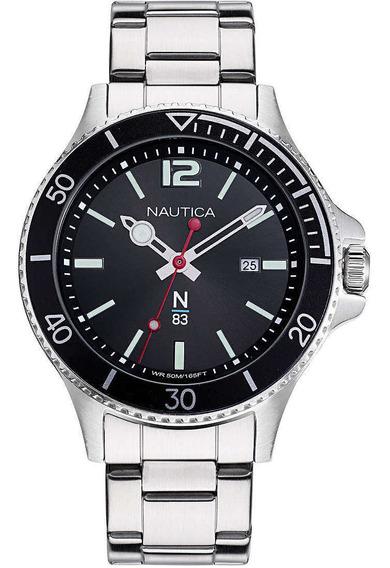 Reloj Nautica Para Caballero Modelo: Napabs910 Envio Gratis