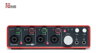 Interfase Audio Focusrite Scarlett 18i8 ¡nueva Generacion!