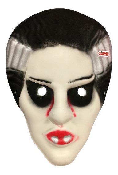 Máscara Vampira Novi Frankestein Halloween - Ciudad Cotillón