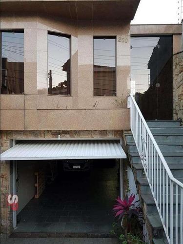 Imagem 1 de 17 de Sobrado Com 3 Dormitórios À Venda, 345 M² De R$ 1.250.000,00 Por R$ 1.100.000,00- Vila Paiva - São Paulo/sp - So1275v