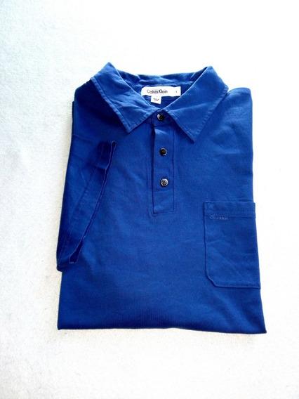Polo Calvin Klein Azul