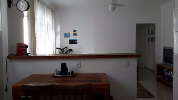 Ótimo Apartamento 1 Dormitório Com Varanda - Astúrias - Guarujá - Ap1235