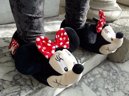 Pantuflas Addnice Disney. Las Originales!!! Minnie - Adultos