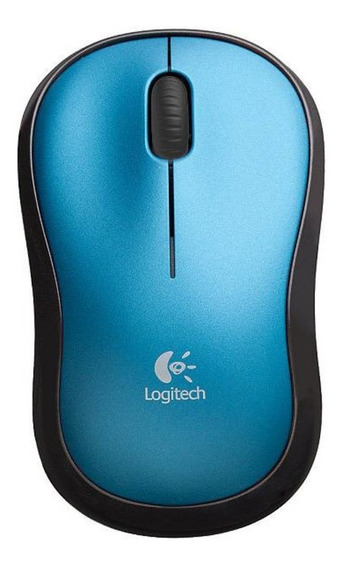 Mouse - Sem Fio - Logitech Wireless M185 - Azul - 910-003636