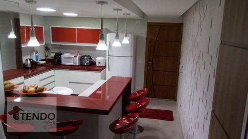 Imagem 1 de 15 de Cobertura 127 M² - Venda - 2 Dormitórios - 1 Suíte - Vila Falchi - Mauá/sp / Imob03 - Co0084