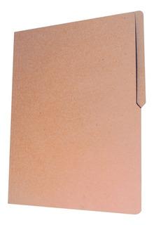 Folder Reciclado Tamaño Carta Ecológico Kraft 100 Folders