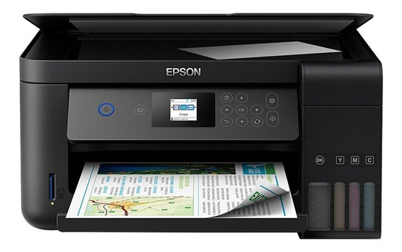 Multifuncional Epson L4160 Ecotank Colorida, Wi-fi Direct