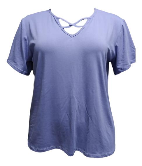 2 Blusas Camiseta Plus Size T-shirt