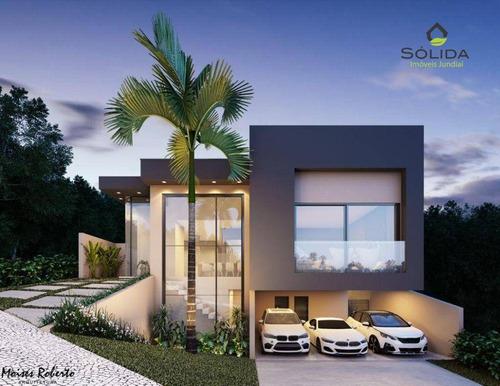 Imagem 1 de 25 de Casa Com 4 Dormitórios À Venda, 297 M² Por R$ 1.700.000 - New Ville - Santana De Parnaíba/sp - Ca0577