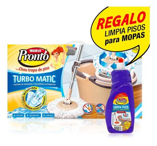 Balde Centrífugo Turbo Matic Iberia Y Otra Mopa De Repuesto