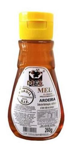 Mel De Aroeira - Bisnaga 260g - Casa Do Mel