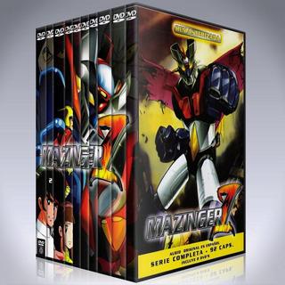 Mazinger Z - Coleccion Completa Dvd