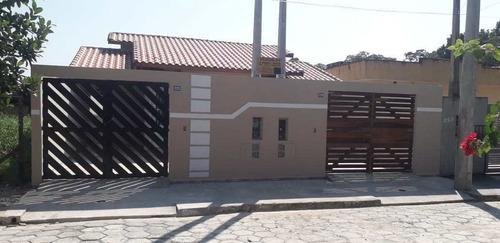Casa Com 2 Dorms, Nossa Senhora Do Sion, Itanhaém - R$ 195 Mil, Cod: 3030 - V3030