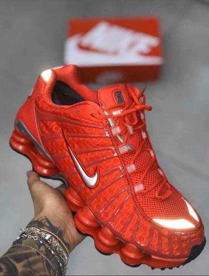 Tênis Nike Shox Tl 12 Molas Original Foto Real Envio Já