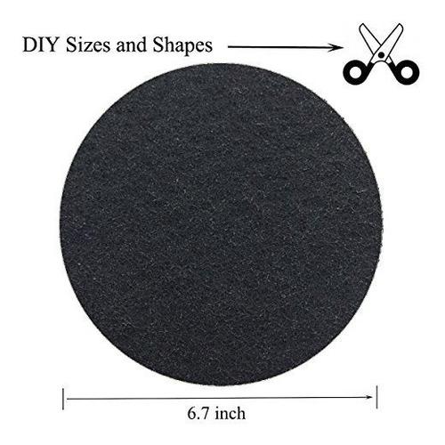 Imagen 1 de 5 de Paquete De 12 Filtros De Carbon Cubeta De Filtro De Compost