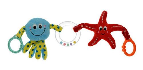 Peluche Tira De Coche Pulpo Y Estrella De Mar. Phi Phi Toys
