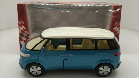 Vw New Microbus 2001 1:38 Kinsmart Milouhobbies A1074