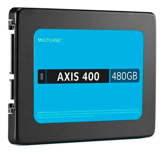 Ssd 480gb Axis 400 Multilaser - Ss401