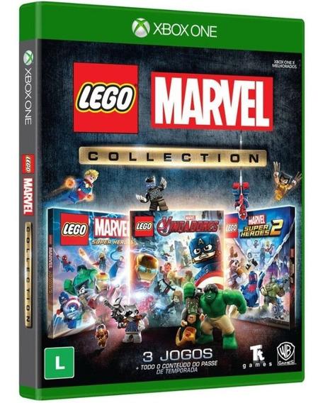 Jogo Lego Marvel Collection Xbox One Disco Fisico Promoção