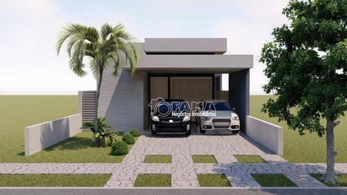 Imagem 1 de 6 de Casa À Venda, 138 M² Por R$ 700.000,00 - Residencial Terras Da Estância - Ala Do Bosque - Paulínia/sp - Ca2277