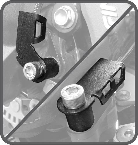 Imagem 1 de 4 de Protetor Sensor Abs Kawasaki Versys 650 2015 Em Diante