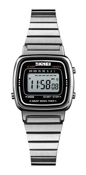 Skmei 1252 Mulheres Relógio 30 M À Prova D