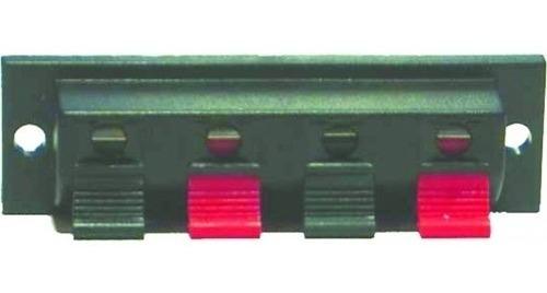 Bornera Para Conexión De Parlante 19mm X 63mm - 4 Contactos