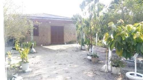 Casa Na Praia Com 2 Quartos, Fogão A Lenha, Estilo Chácara.
