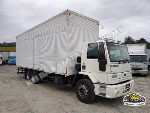Imagem 1 de 15 de Ford Cargo 2428 E Truck 2011 Baú 9,00 X 3,10 Altura