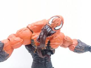 Orange Venom. Marvel. Super Articulado. Loose!