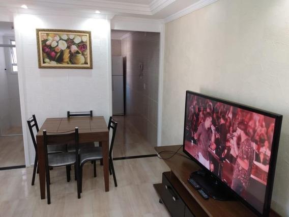 Apartamento Em Parque Santa Rosa, Suzano/sp De 49m² 2 Quartos À Venda Por R$ 190.000,00 - Ap441768