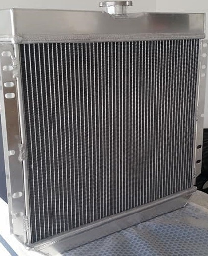 Radiador Ford Maverick 70-77 Mustang 67-70 Aluminio 3 Lineas