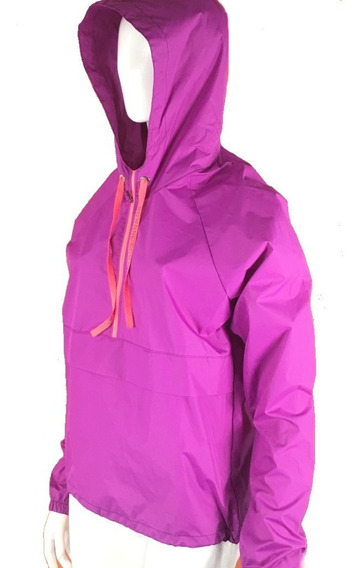 Buzo Rompeviento Canguro Impermeable Running Mujer - Sownne