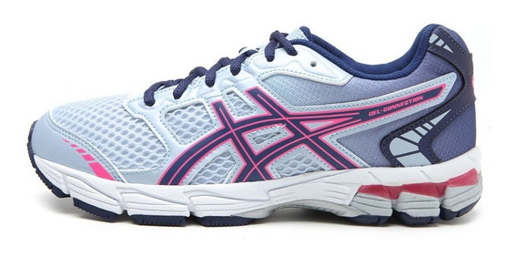 Tenis Feminino Asics Gel-connection - Azul Celeste