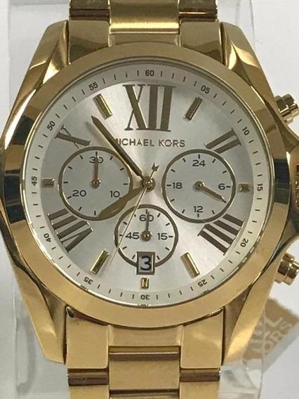 Relógios Femininos Michael Kors Dourado Mk6266 Bradshaw