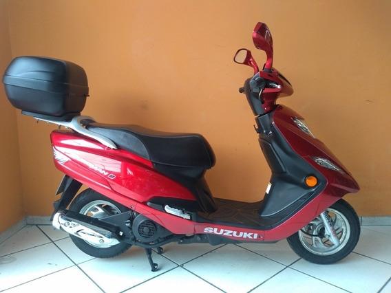 Suzuki Burgman 125 I 2014 Vermelha