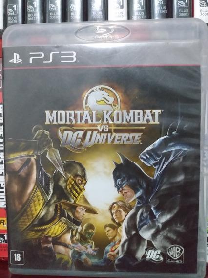 Mortal Kombat Vs Dc Universe Completo Ps3 | Parc. Sem Juros