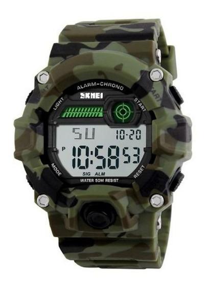 Relógio Masculino Mergulhador Militar Skmei 1251 Original