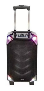 Parlante Bluetooth Noga Maya Karaoke Grande Luces + Micro