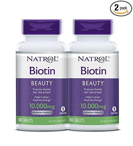 Biotina 100 Tabletas (10000mcg)