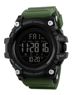 Reloj Hombre Skmei 1384 Militar Cronometro Fecha Sumergible