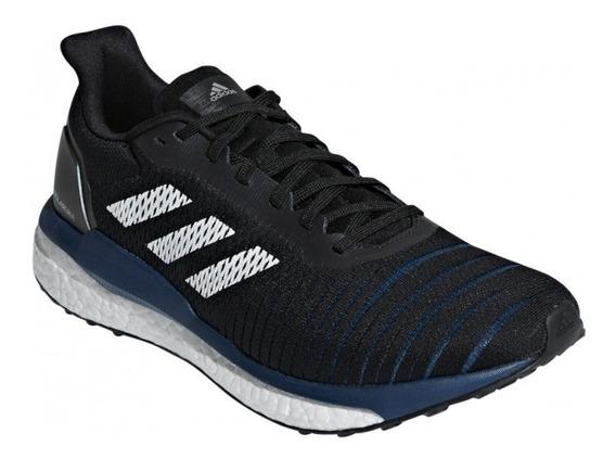 Zapatillas adidas Solar Drive De Hombre Para Running Negras