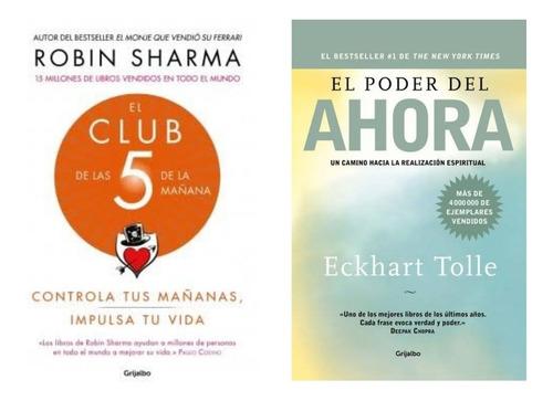 Imagen 1 de 1 de El Poder Del Ahora + El Club De Las 5 De La Mañana